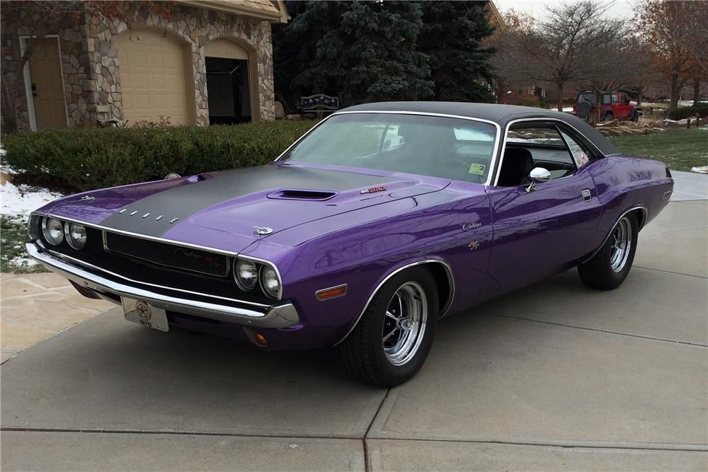 1970 dodge challenger rt barrett jackson auction company Dodge Barracuda Purple