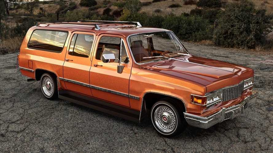 1977 cadillac escalade renderings reveal groovy suv that Cadillac Escalade Reveal