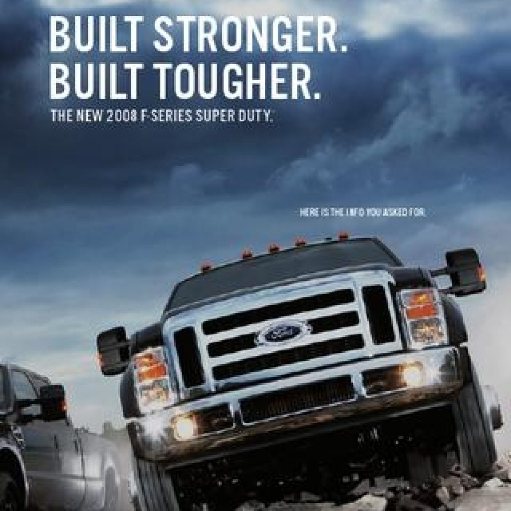 2008 ford f serie super duty brochure usa ted sluymer issuu Ford Super Duty Brochure