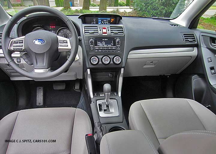 2014 subaru forester interior photos Subaru Forester Interior
