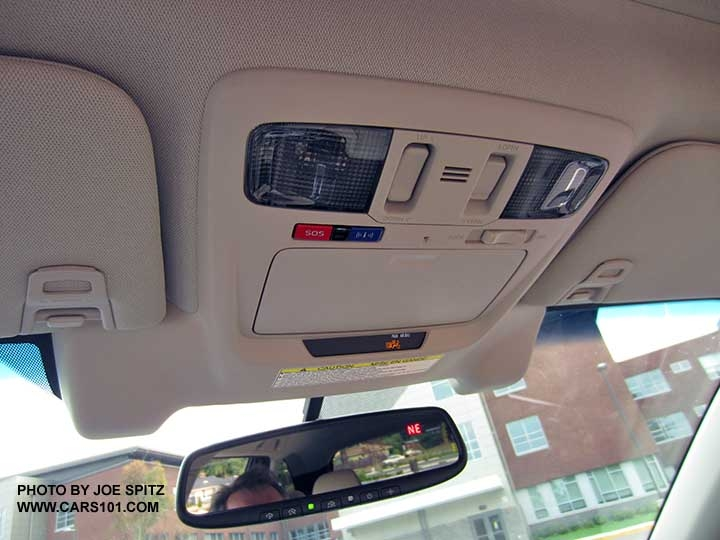 2016 outback interior photographs and images Subaru Garage Door Opener