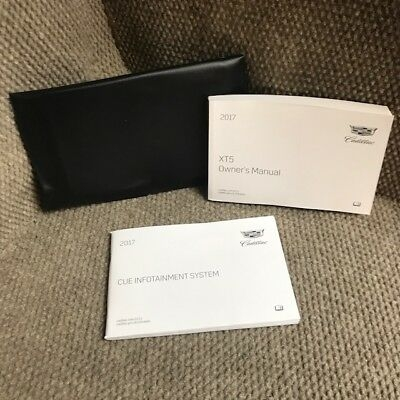 2017 cadillac xt5 owners manual with navigation cue infotainment book and case ebay Cadillac Xt5 Owner'S Manual