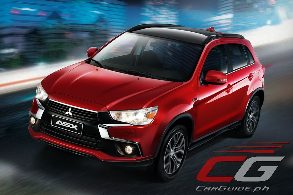 2017 mitsubishi asx now available in the philippines Mitsubishi Asx Philippines