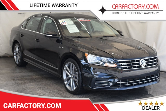 2017 used volkswagen passat r line wcomfort pkg automatic at car factory outlet serving miami dade broward palm beach collier and monroe county Volkswagen Passat R Line