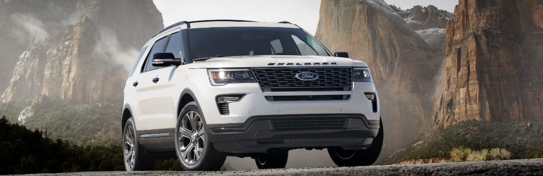 2018 ford explorer release date and new powertrain features Ford Explorer Release Date