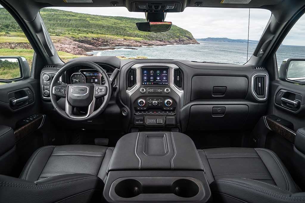 2018 gmc sierra vs 2019 gmc sierra whats the difference Gmc Elevation Interior