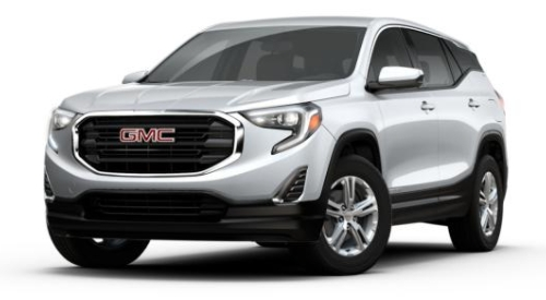2018 gmc terrain quicksilver metallic front side viewo Gmc Terrain Quicksilver Metallic