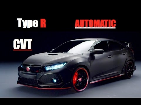 2018 honda civic type r automatic cvt inside lane Honda Type R Automatic