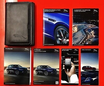 2018 jaguar f pace owners manual with case oem free shipping Jaguar F Pace Owners Manual
