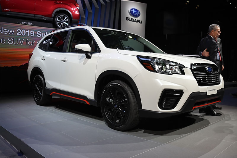 2018 ny auto show subarus new forester is a family Subaru Forester Redesign