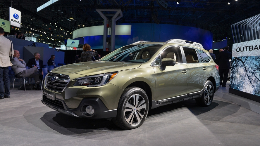 2018 subaru outback brings well thought out facelift to new york Subaru Outback New York