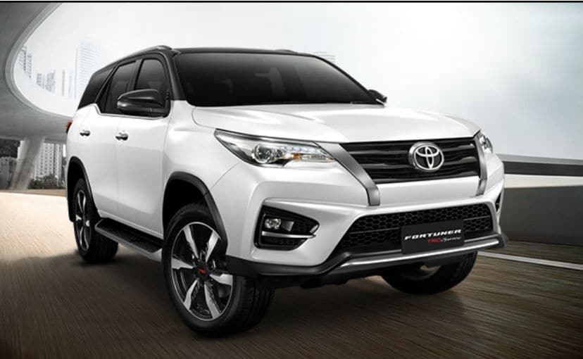 2018 toyota fortuner trd sportivo 2 launched in thailand Toyota Fortuner Facelift Trd Sportivo