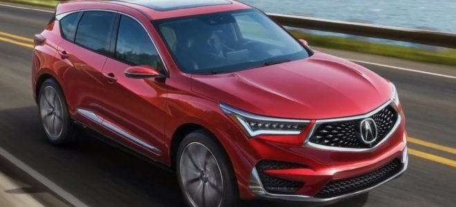 2019 acura rdx prototype redesign changes price release date Acura Rdx Release Date