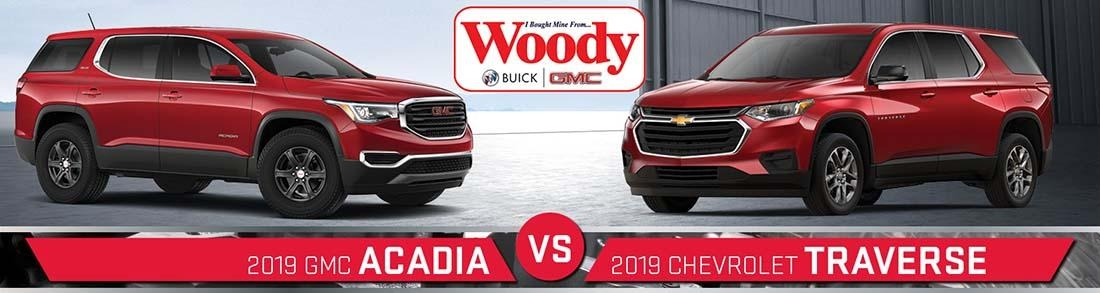 2019 chevy traverse vs 2019 gmc acadia near aurora il Gmc Acadia Vs Chevy Traverse