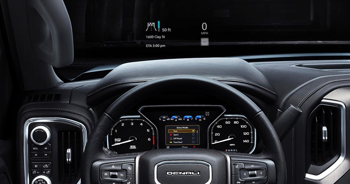 2019 gmc sierra denali silver head up display photos Gmc Sierra Heads Up Display