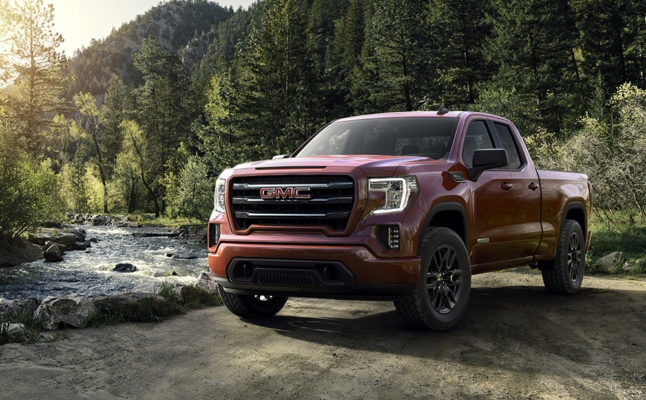 2019 gmc sierra elevation launched body matched color x31 Gmc Sierra X31 Off Road Package