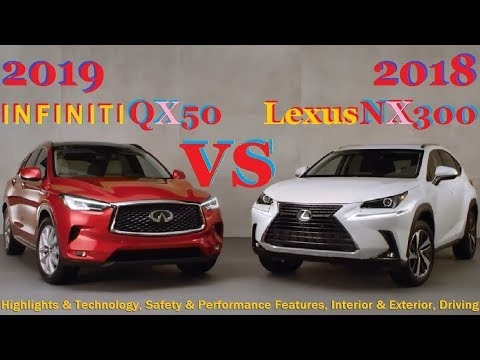 2019 infiniti qx50 vs 2018 lexus nx review highlights technology safety performance features Infiniti Qx50 Vs Lexus Nx