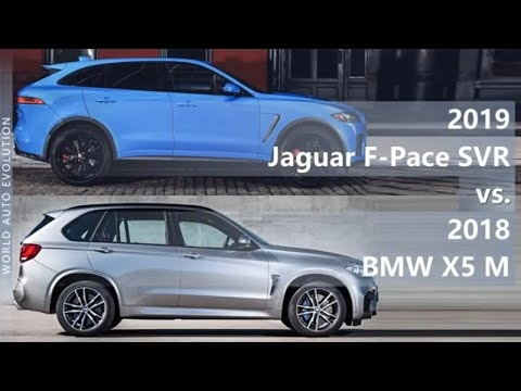 2019 jaguar f pace svr vs 2018 bmw x5 m technical Jaguar F Pace Vs Bmw X5