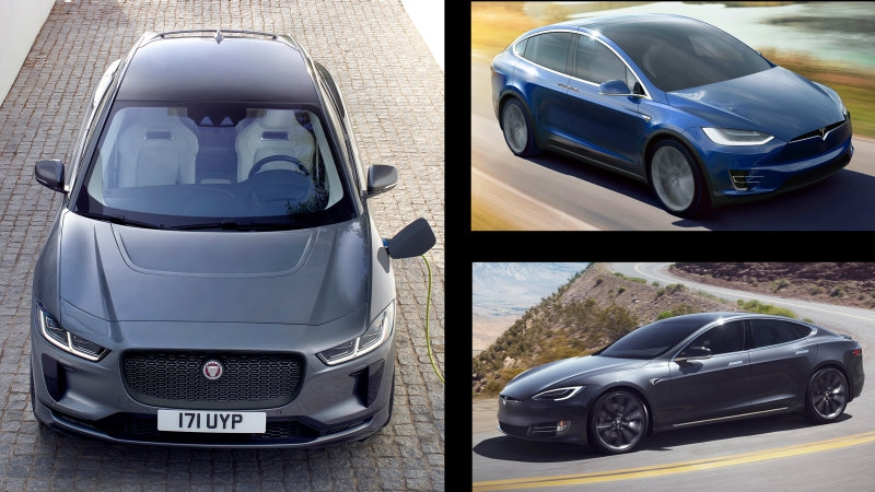 2020 jaguar i pace compared with tesla model x and model s Jaguar I Pace Model Year