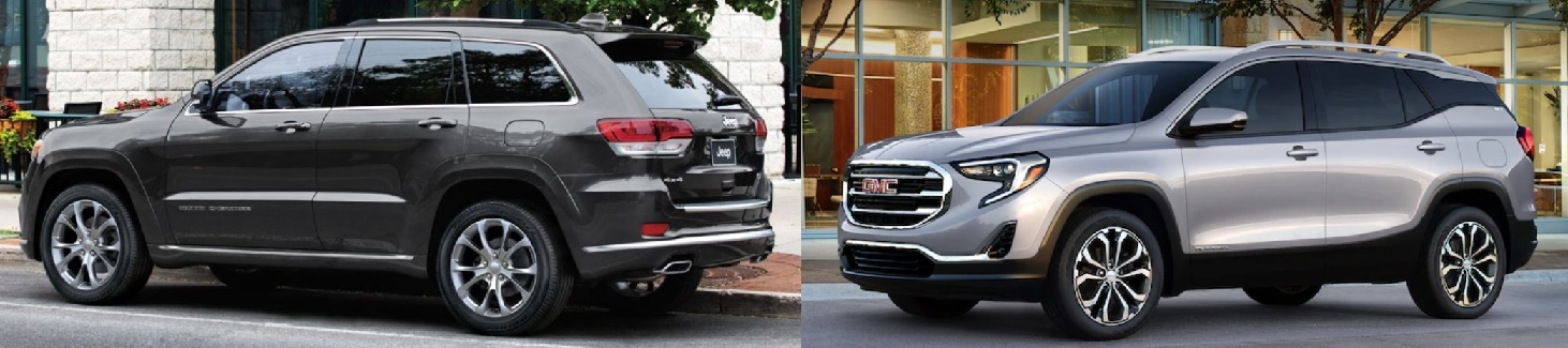 2019 jeep grand cherokee vs gmc terrain vip auto group leasing Gmc Terrain Vs Jeep Grand Cherokee