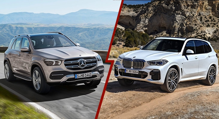2019 mercedes benz gle and 2019 bmw x5 what can we expect Mercedes Gle Vs Bmw X5