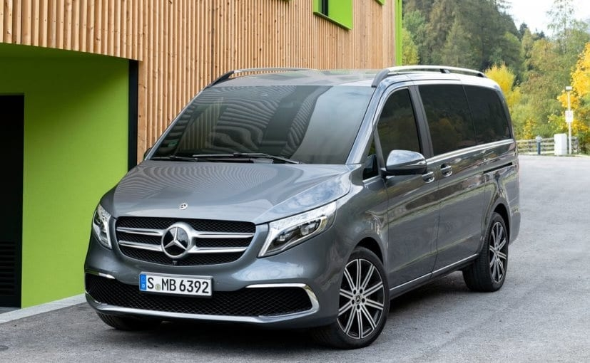 2019 mercedes benz v class facelift unveiled carandbike Mercedes V Class Facelift