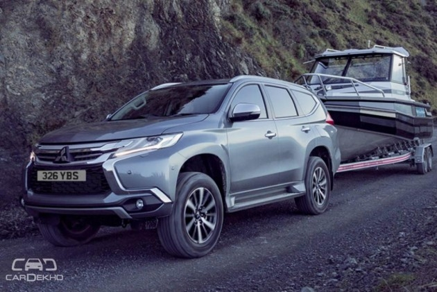 2019 mitsubishi pajero sport facelift spied for the first Mitsubishi Pajero Sport Facelift