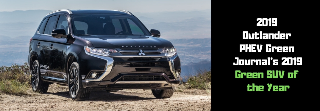 2019 outlander phev green journals 2019 green suv of the year Mitsubishi Outlander PlugIn Hybrid