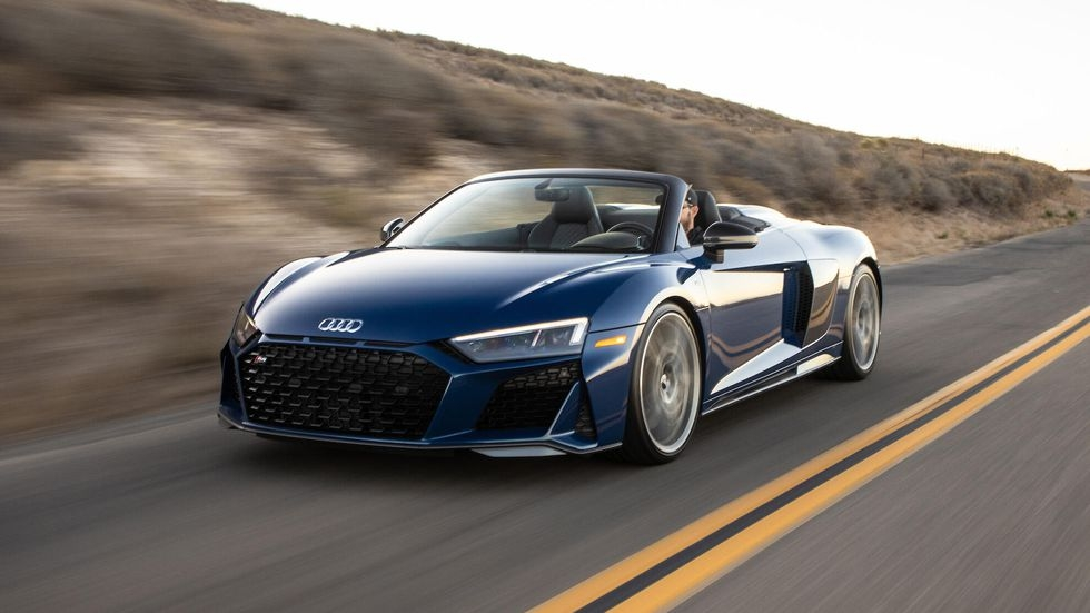 2020 audi r8 spyder offers v10 performance with the wind in Audi R8 V10 Performance