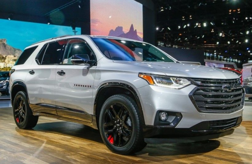 2020 chevy traverse official preview in auto show Chevrolet Traverse Release Date