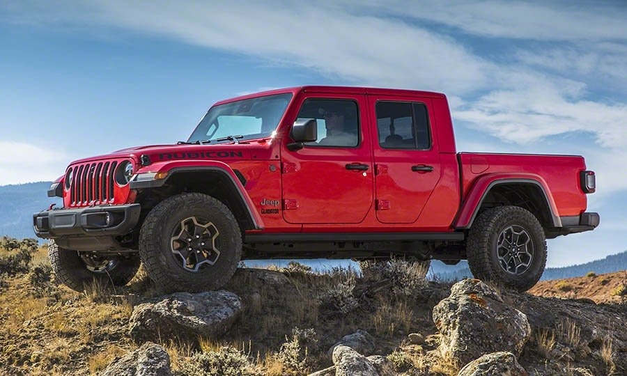 2020 jeep gladiator pickup becomes reality after years of Jeep Gladiator Overall Length
