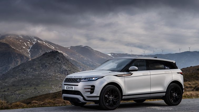 2020 range rover evoque first drive stylish suv packs x ray Jaguar Land Rover Vision