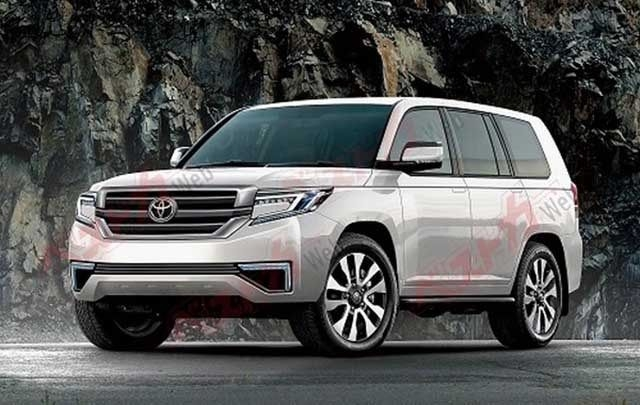2020 toyota land cruiser spy photos new concept cars group Toyota Land Cruiser Concept