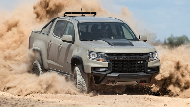 2021 chevrolet colorado zr2 unveiled with updated design Chevrolet Colorado Updates