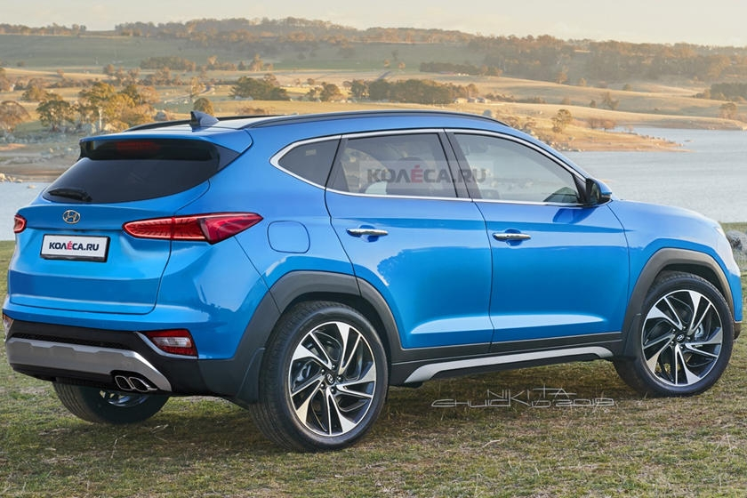 2021 hyundai tucson will look radically different carbuzz Hyundai Tucson Redesign