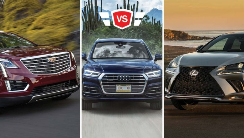 audi q5 vs cadillac xt5 vs lexus nx luxury crossover comparison Cadillac Xt5 Vs Audi Q5