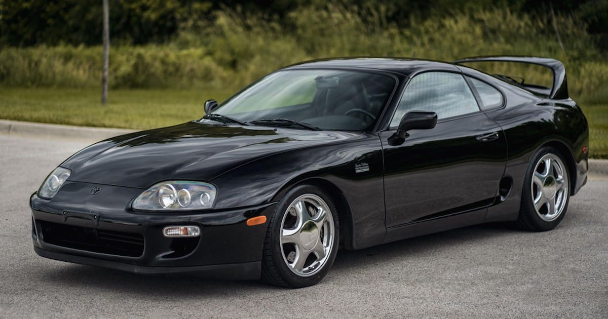 barrett jackson just sold a 1997 toyota supra for 176000 Toyota Supra Barrett Jackson
