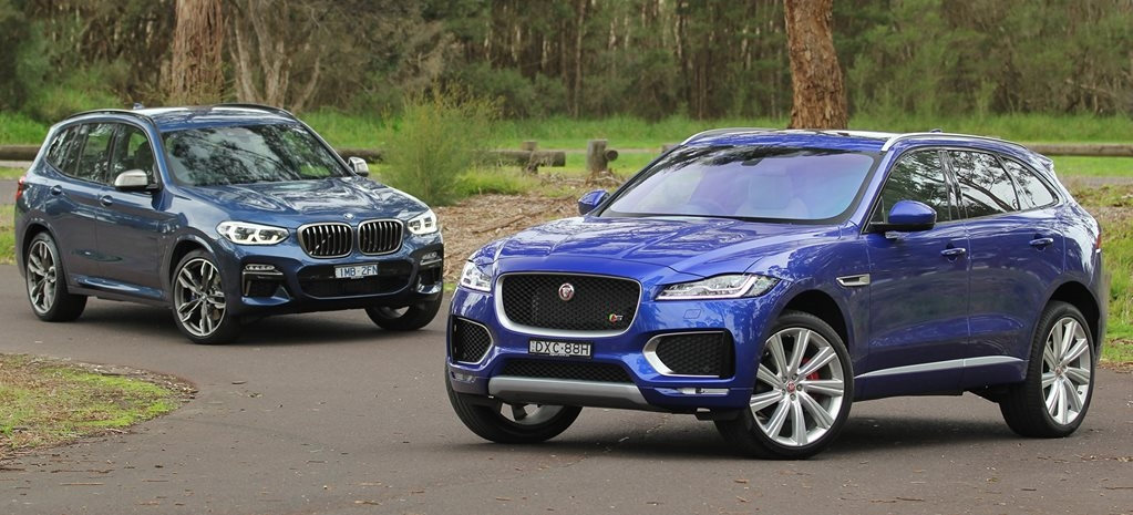 bmw x3 m40i vs jaguar f pace s 35t comparison review Jaguar F Pace Vs Bmw X3