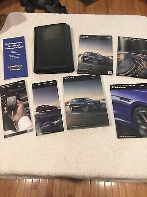 brand new 2018 jaguar f pace owners manual must see ebay Jaguar F Pace Owners Manual