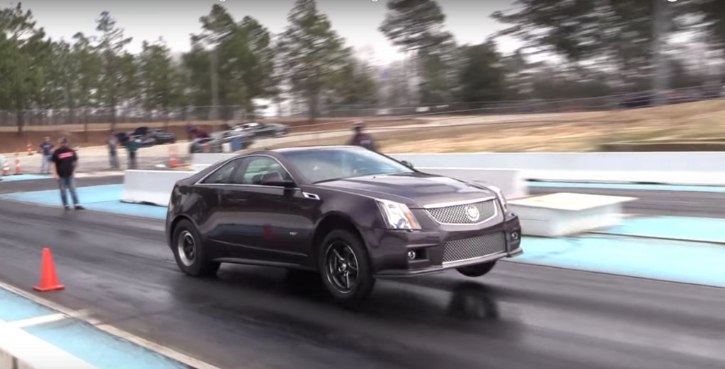 cadillac cts v sets 9 second 14 mile record gm authority Cadillac Cts V Quarter Mile