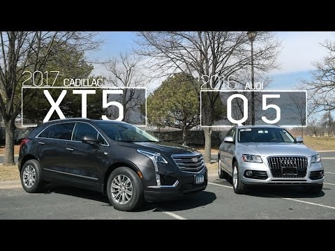 cadillac xt5 vs audi q5 model comparison driving review Cadillac Xt5 Vs Audi Q5