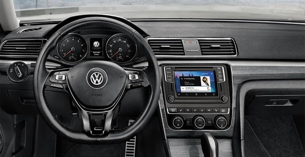 check out the plush and deluxe volkswagen passat interior Volkswagen Passat Interior