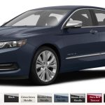 choosing a color for your 2016 chevy impala jay hodge Chevrolet Impala Colors