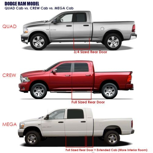 details about smoke window vent visors rain guard tape on 4pc for dodge ram quad cab 02 08 new Dodge Ram Quad Cab Vs Crew Cab