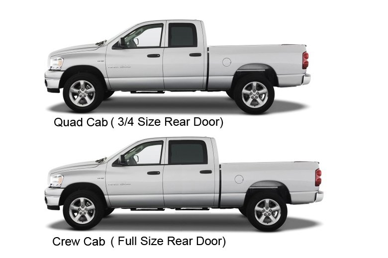 dodge ram 2009 present crew cab vs quad cab dodgeforum Dodge Ram Quad Cab Vs Crew Cab