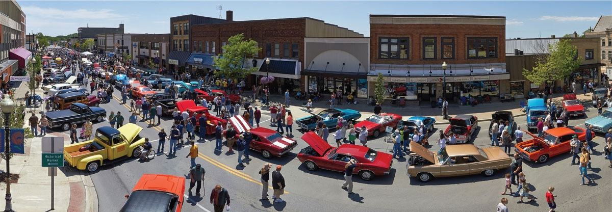 downtown cadillac association to host back to the bricks Cadillac Back To The Bricks