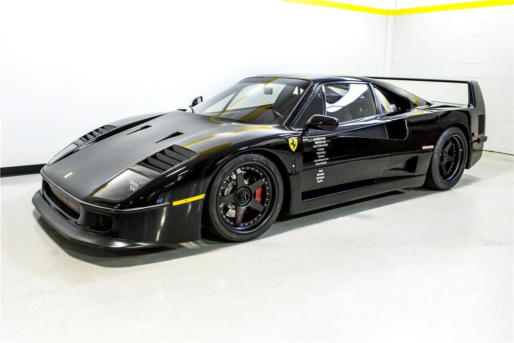 fast n loud ferrari f40 heading to barrett jackson auction Barrett Jackson Ferrari