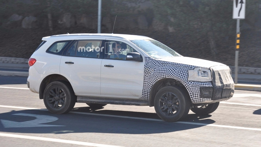 ford bronco mule spied testing for the first time Ford Bronco Spy Photos