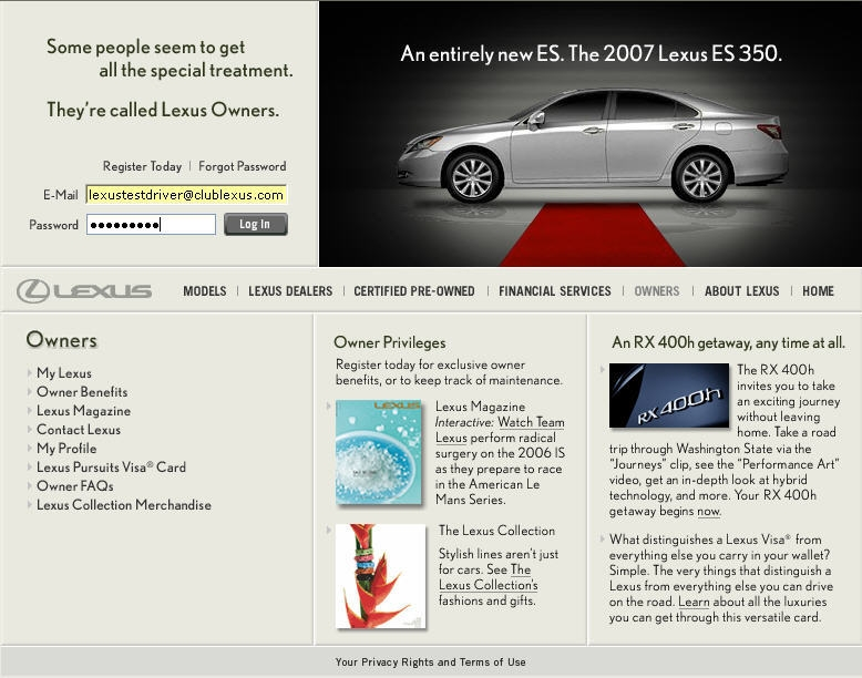 free lexus owners manual if you lost yoursinteresting Lexus Es350 Owners Manual
