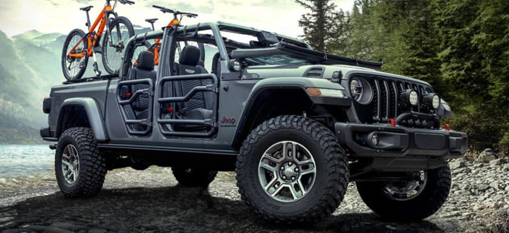 gladiator exceeds wrangler mopar accessory sales kendall Jeep Gladiator Mopar Accessories